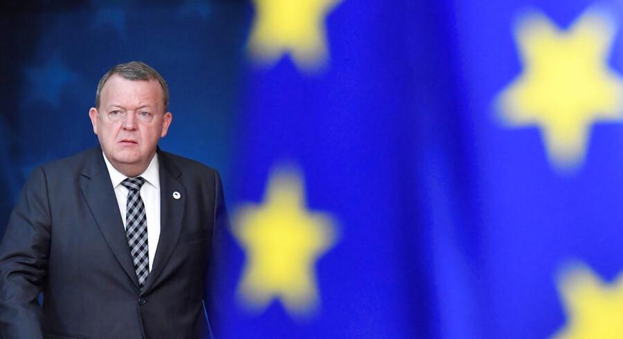 Foto af statsminister Lars Løkke Rasmussen.
