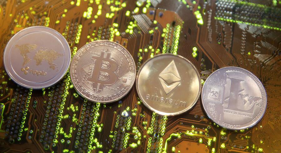 Ripple, Bitcoin, Etherum og Litecoin er alle eksempler på kryptovaluta.