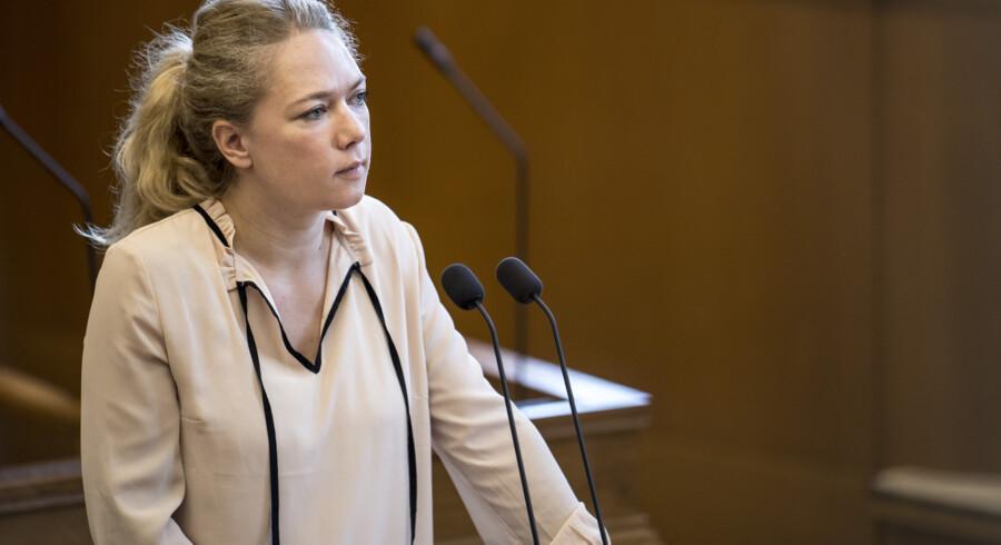 Lisbeth Bech Poulsen (SF) mener, at kviklånsselskaber højst bør operere med ÅOP på 15 procent. Mads Claus Rasmussen/Ritzau Scanpix
