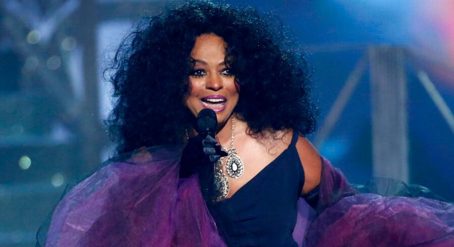 Diana Ross optræder stadig og gav en fremragende performance i 2017, da hun gæstede American Music Awards.