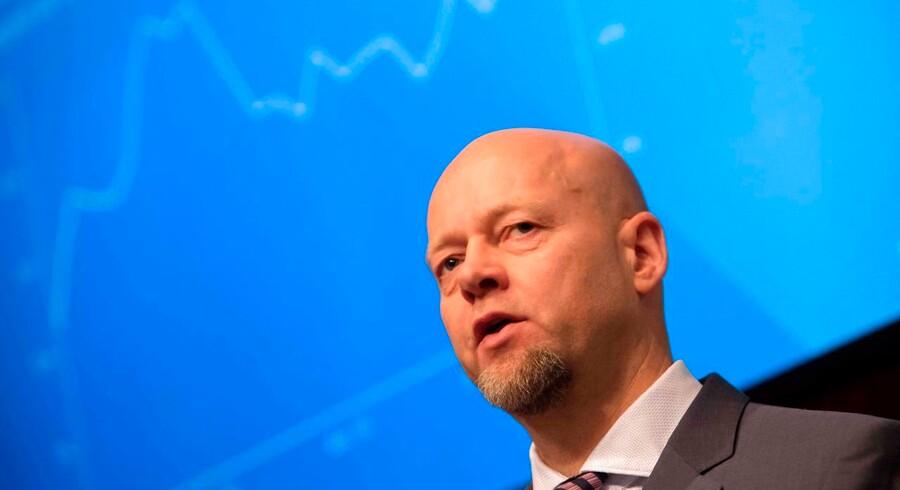 Yngve Slyngstad står i spidsen for den norske oliefond, der ejer 1,4 pct. af verdens børsnoterede aktier.
