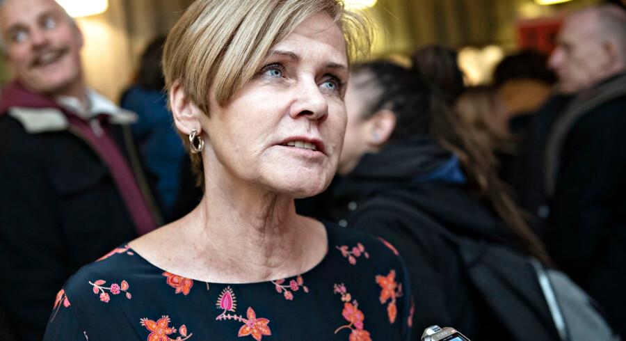 »Forslaget om lokalisering var et ønske fra Dansk Folkeparti,« skriver Mette Bock.