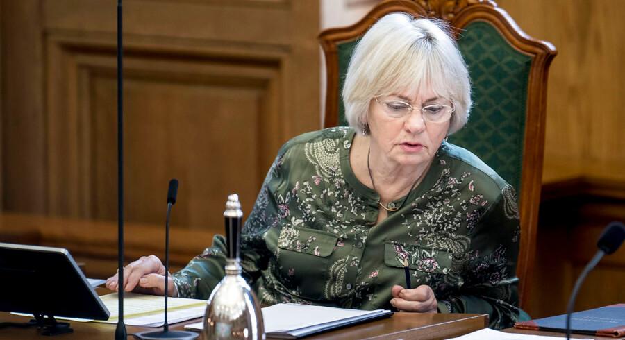 Foto af folketingets formand Pia Kjærsgaard (Foto: Mads Claus Rasmussen/Ritzau Scanpix)