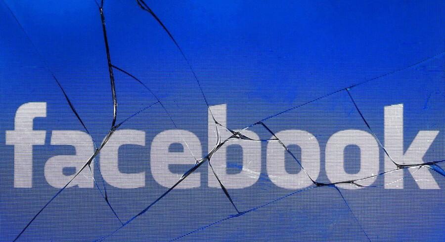 Fra april har Facebook besluttet at forbyde »lovprisning, støtte og præsentation af hvid nationalisme og separatisme« på Facebook og Instagram pga. angrebet på to moskéer i New Zealand. Foto: Joel Saget/ Ritzau Scanpix.