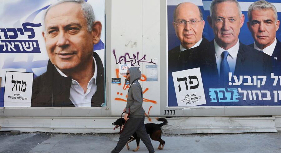 Den israelske valgkamp har været en af de mest beskidte og personfikserede og er først og fremmest et valg for eller imod Netanyahu.