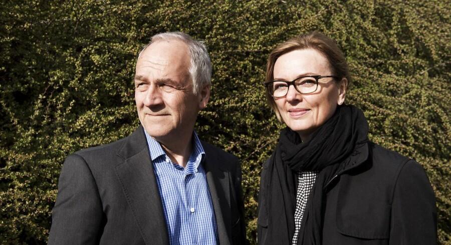 Peter Buhl Jensen er topchef i biotekselskabet Oncology Venture, hvor hans kone, Ulla Hald Buhl, indtager posten som driftsdirektør.