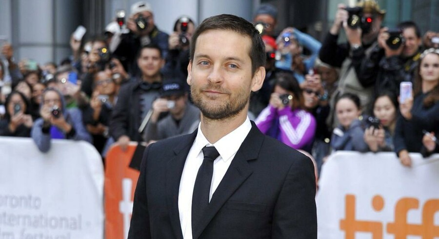 Her ses Tobey Maguire i 2014.