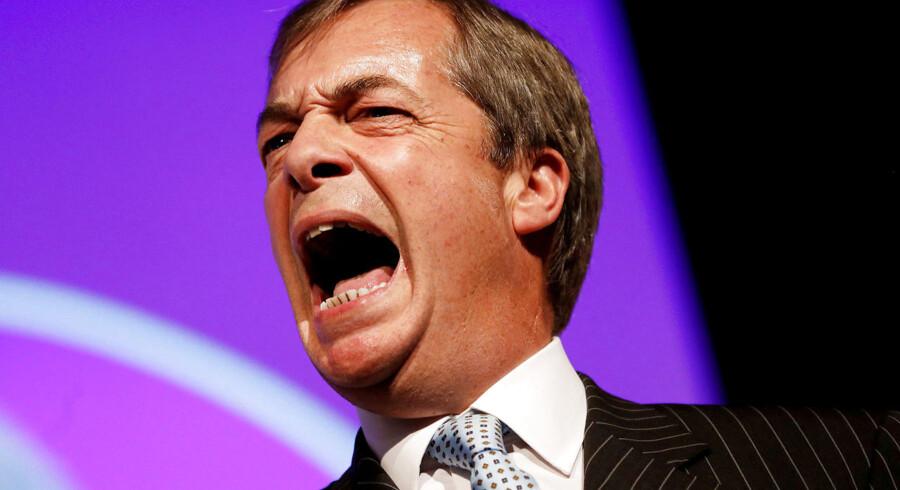 Den tidligere leder af UKIP, Nigel Farage, var en af de fremmeste stemmer i leave-kampagnen.