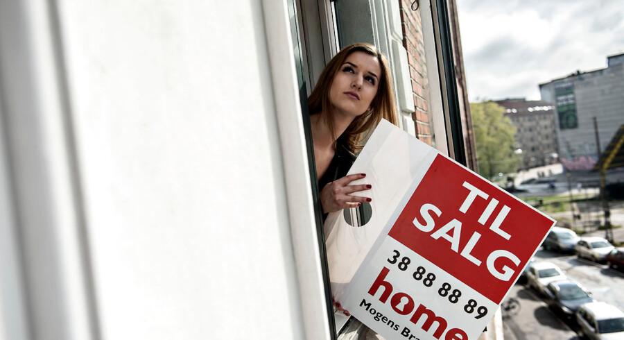 Hvis man skal sælge sin ejerlejlighed i København eller på Frederiksberg, er der godt nyt at hente i Boligsidens Markedsindeks for marts. Siden nytår er salgspriserne kravlet op – om end der er tale om små stigninger.