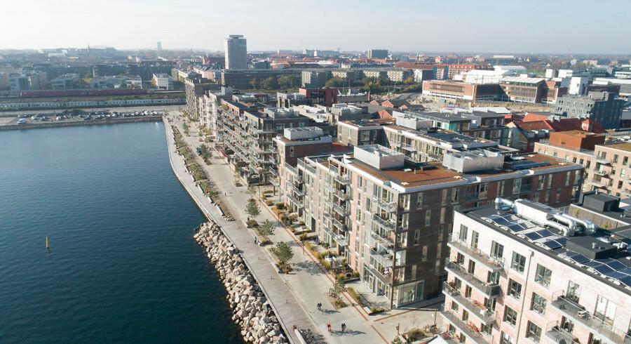 Nordhavn er et af de steder i København, hvor der er blevet bygget massivt de senere år.