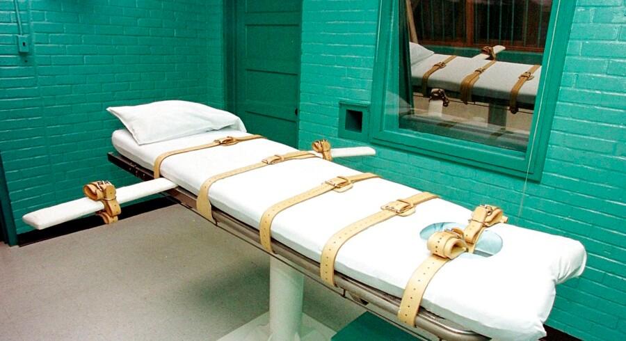 Henrettelsesrum i staten Tennessee.