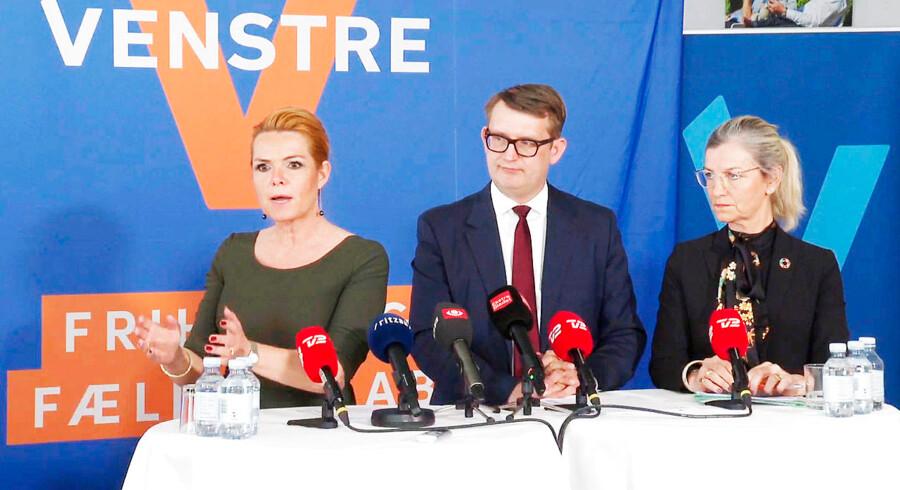 Venstres pressemødde 9. april var i virkeligheden en pinling skræmmekampagne mod de politiske rivaler fra Socialdemokratiet, mener Jacob Vest.