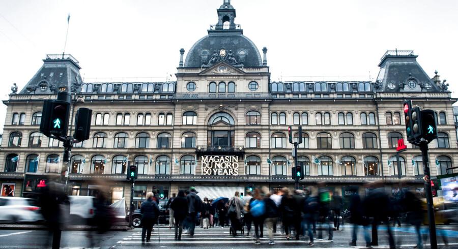Magasin består af københavnervartegnet på Kgs. Nytorv og seks andre stormagasiner samt en webbutik. Arkivfoto: Anne Bæk/Ritzau Scanpix