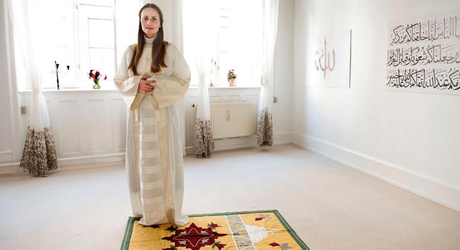 Under den første fredagsbøn i Skandinaviens første kvindemoskée ledte Sherin Khankan bønnen som imam. Nu er hun aktuel i filmen »Reformisten«.