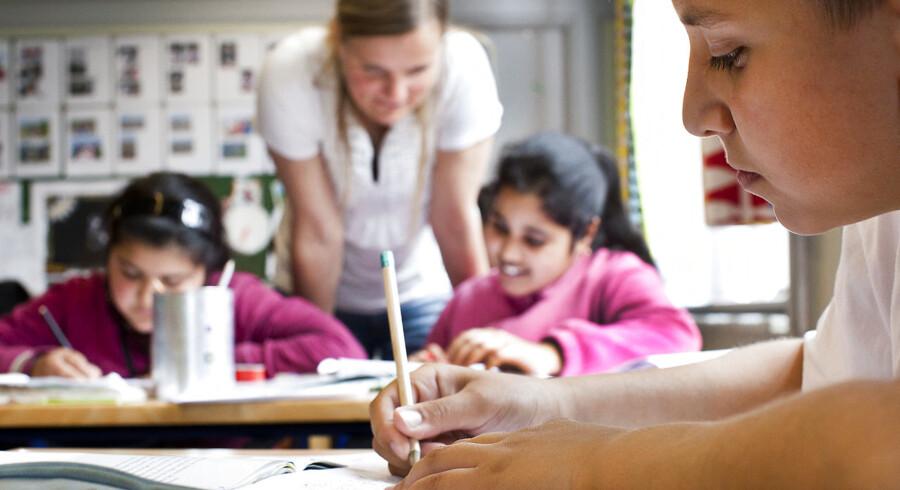 Tagensbo Skole i København er én af de fem københavnske skoler, som ville have fået 1,3 mio. kr. sidste år, hvis de havde sagt ja til at være med i regeringens skolepulje. Alligevel fortryder skolens tidligere leder Jeanne Jacobsen ikke sit nej til tilbuddet.