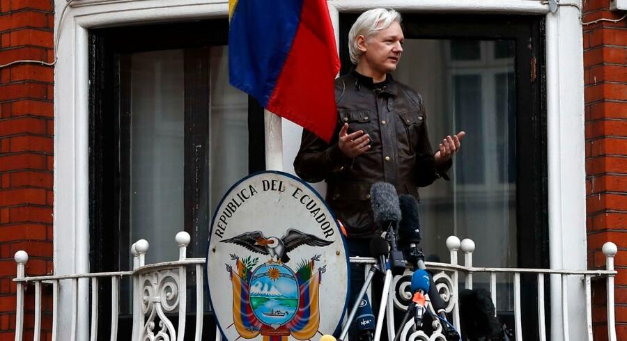 Julian Assange er i dag blevet anholdt.