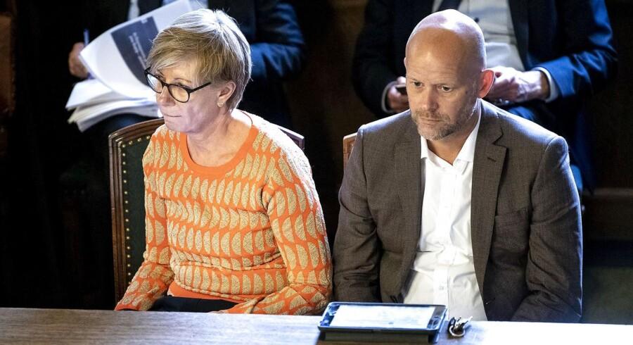 Pernille Andersen og direktør Torben Gleesborg har fået henholdsvis 2,6 og 1,7 millioner kroner i gyldent håndtryk.