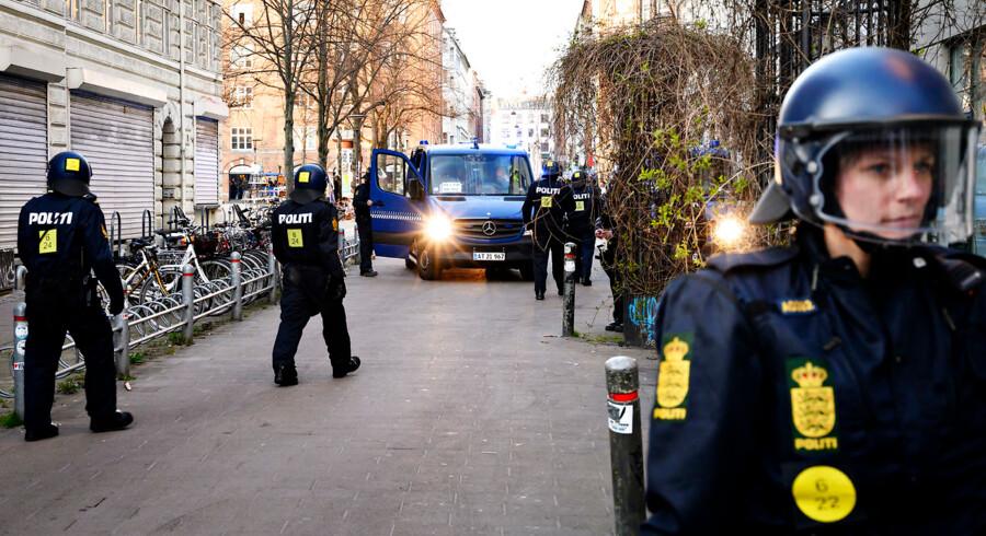 Det er endnu uvist, om Rasmus Paludans demonstration finder sted på en anden lokation end Blågårds Plads.