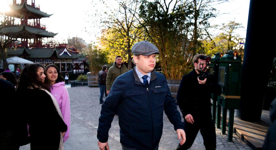 Rasmus Paludan og Stram Kurs afholder demonstration kl. 17:10 i Bagsværd. (Foto: Anthon Unger/Ritzau Scanpix)