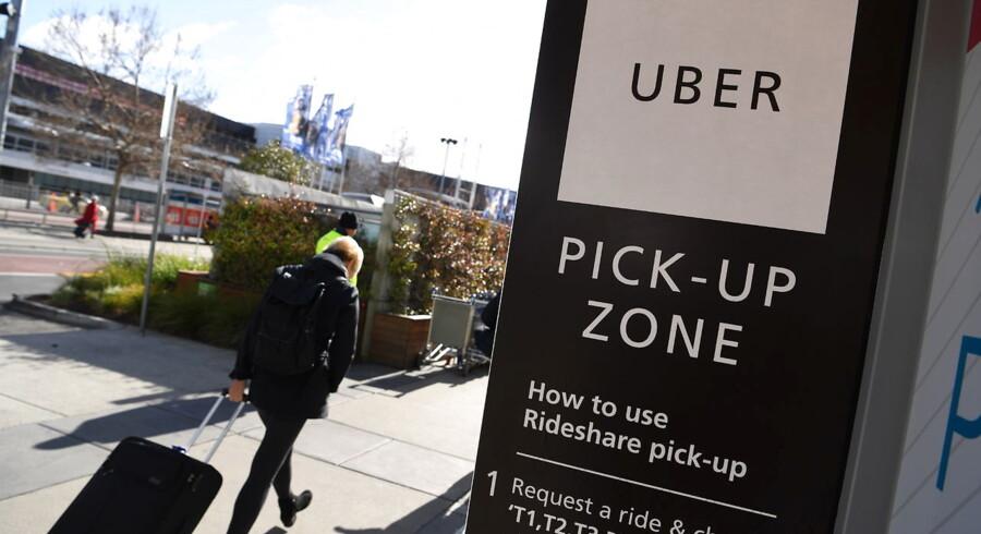 Uber er en af de mange unicorns, der har kurs mod børsen i år.