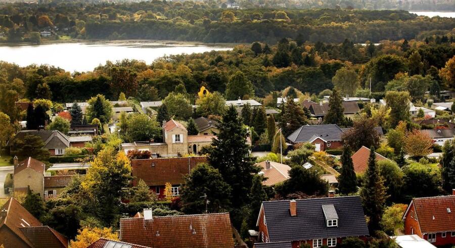 De danske familiers nettoformuer vokser i hovedstadsområdet. Bedst ser det ud i kommunerne nord for København.