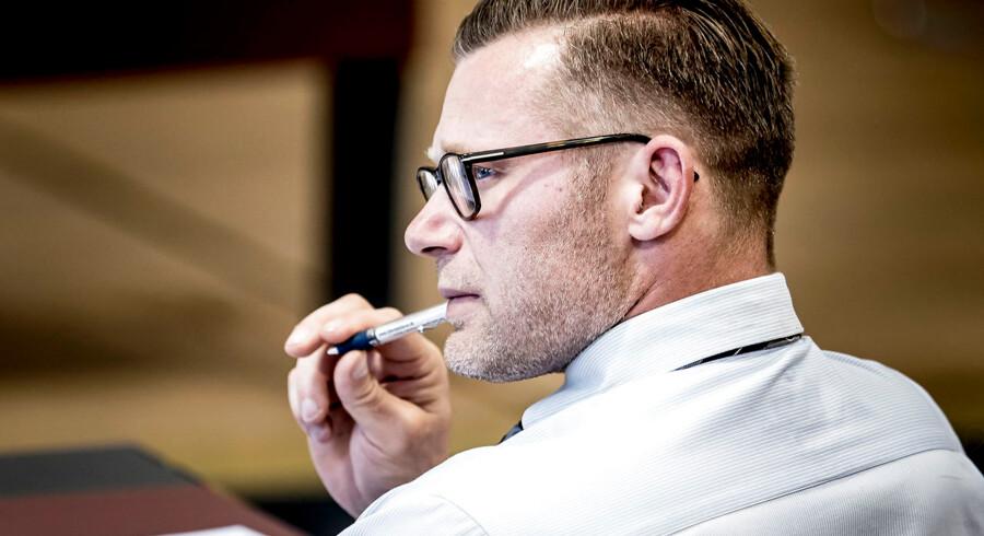 Skatteudvalgets næstformand, Joachim B. Olsen, er overrasket over, at Skatteminsiteriet ikke har styr på, hvor mange sager, der verserer mod borgere og virksomheder. Arkivfoto: Mads Claus Rasmussen/Scanpix