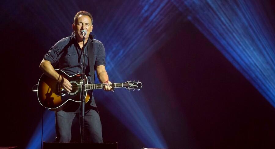 Til juni udkommer der nyt album fra Bruce Springsteen. Her optræder han i Air Canada Centre i Toronto i 2017.