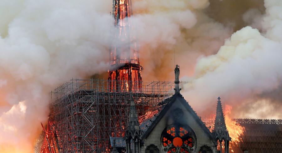 Jeg har kæmpet for at forene venstrefløjens afvisning af den vestlige civilisation med den udbredte sorg over skaderne på Notre Dame, skriver Niall Ferguson.