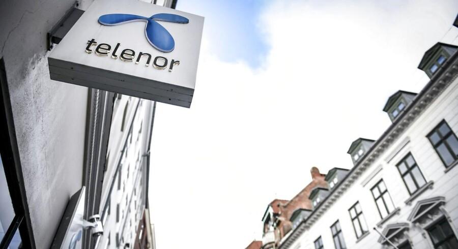 Den norske telegigant Telenor har netop indgået en aftale, så der kan skrues op for internetsalget i Danmark, hvor selskabet er nummer to efter TDC. Arkivfoto: Mads Claus Rasmussen, Ritzau Scanpix