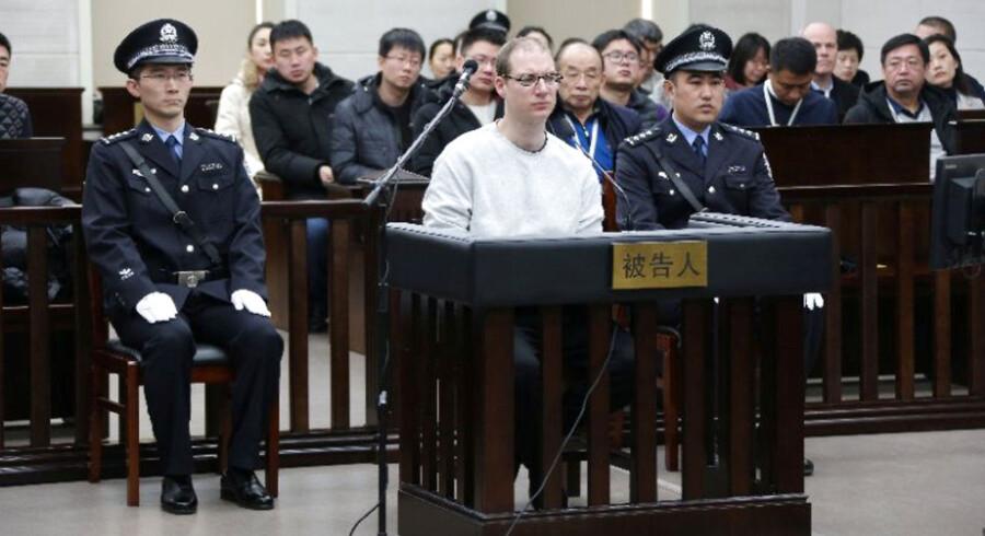 Den 36-årig canadiske statsborger Robert Lloyd Schellenberg blev i november 2017 idømt 15 års fængsel i Kina for narkosmugling.