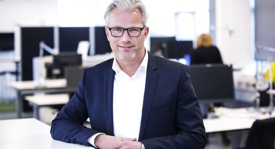 Telenors topchef, Jesper Hansen, har skruet op for blusset for at få flere kunder i butikken. Arkivfoto: Telenor