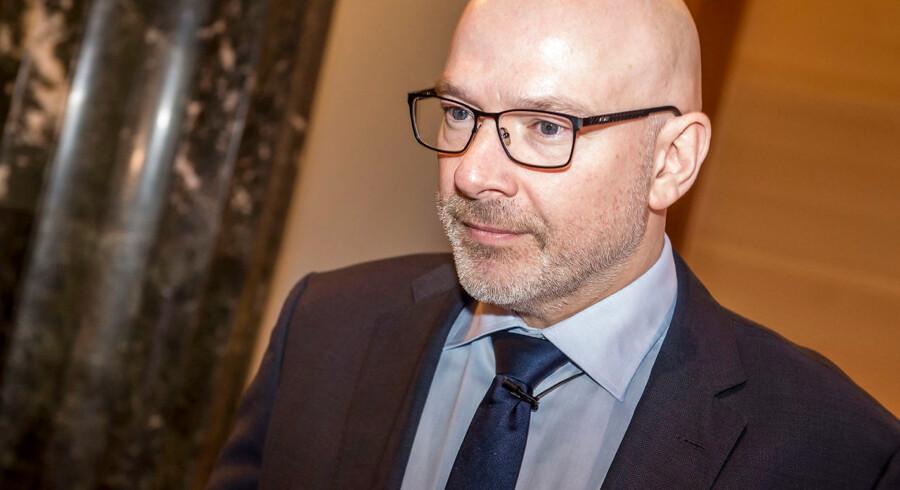 Midlertidig administrerende direktør i Danske Bank, Jesper Nielsen, fortæller i forbindelse med offentliggørelsen af bankens regnskab for første kvartal, at banken har fået en svær start på 2019.
