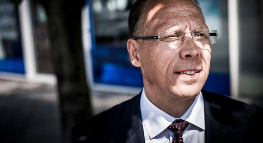 Nordea-chef Frank Vang-Jensen må fortsat notere tilbagegang i den danske del af bankens forretning, når det drejer sig om kundeantallet.
