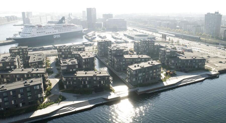 Man skal være ganske velhavende for at kunne bosætte sig i Nordhavn i København. Samtidig udsætter man sig selv for en ganske betydelig luftforurening fra både trafik og skibe.