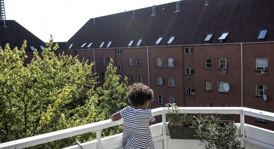 »Hvis vi skal komme de parallelsamfund til livs, som udviser foragt for demokratiske værdier, myndigheder og politi, så er det tvingende nødvendigt med en plan, der tør stille krav til boligforeningerne og de udsatte områder om konkret og mærkbar forandring,« skriver Cecilia Lonning-Skovgaard. Arkivfoto fra Mjølnerparken.