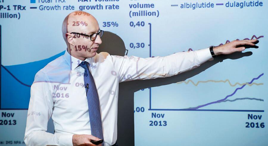 Novo Nordisk og topchef Lars Fruergaard Jørgensen har fået fart under selskabets nye diabeteshåb på det afgørende amerikanske marked.