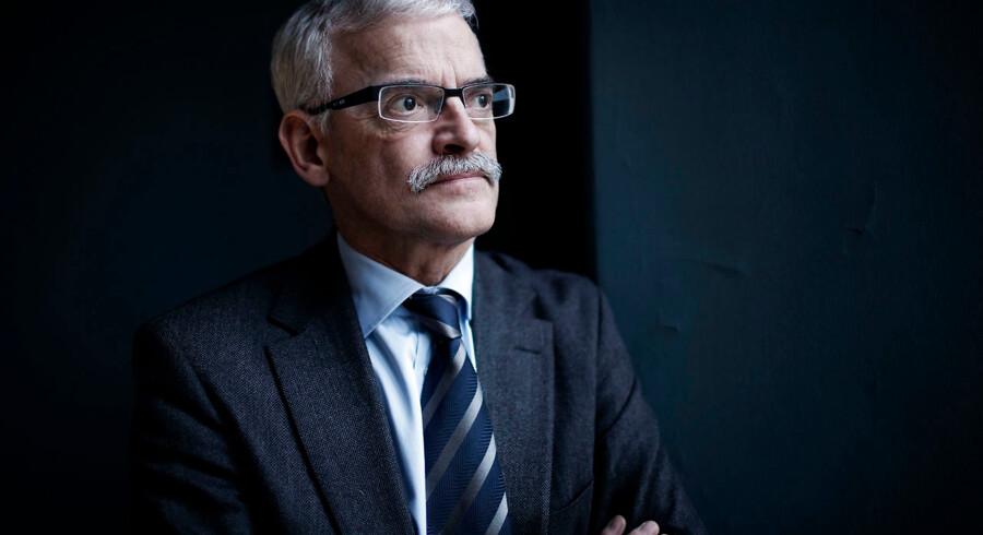 Johannes Riis, tidligere litterær direktør i Gyldendal, medvirker i podcasten »Den smukke borgerlighed«, der har Søren Pind som vært.