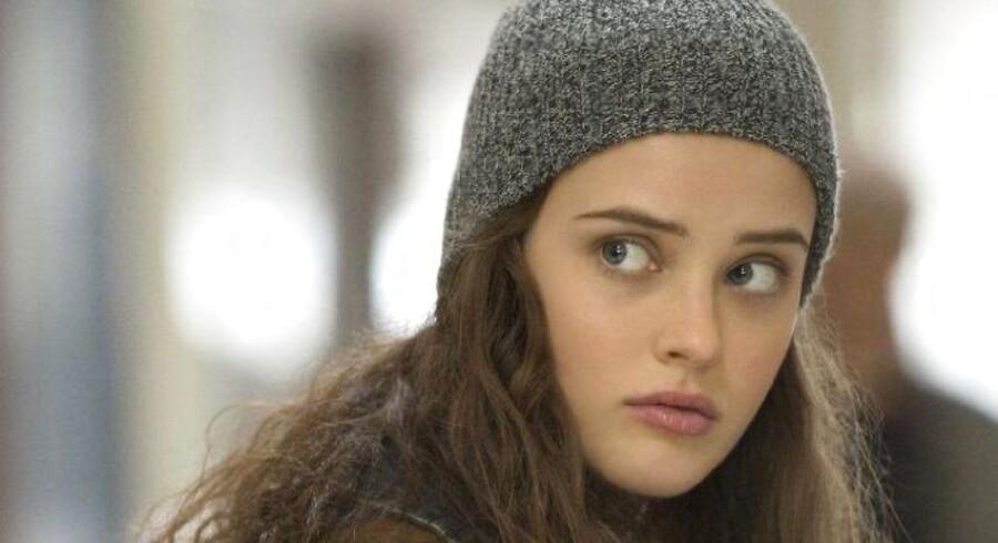 Karakteren Hannah Baker (billedet) begår selvmord i Netflix-serien »13 reasons why«. En ny undersøgelse viser, at selvmordsraten blandt unge drenge i USA steg markant i måneden efter seriens udgivelse.