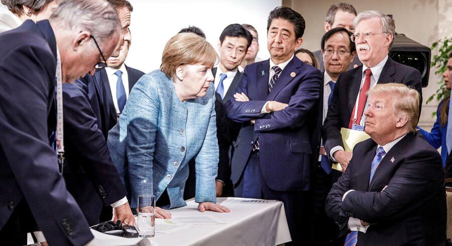 Donald Trumps USA udgør en del af bagtæppet for europaparlamentsvalget i maj 2019. USA er blandt de fem aktører, som agerer ganske anderledes, end de fleste forudsagde for 30 år siden, da Berlinmuren faldt. De andre er Rusland, Kina, Storbritannien og nogle af de central- og østeuropæiske lande. Valget bliver en lakmusprøve på, hvordan europæerne skal reagere på den nuværende brydningstid.
