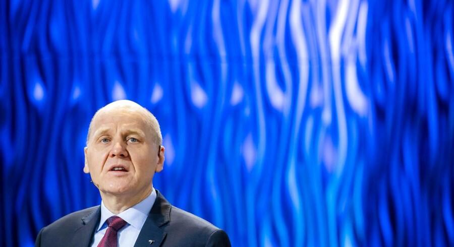 Telenors koncernchef, Sigve Brekke, håber på, at fusionen med det malaysiske mobilselskab Axiata går igennem senere i år. Arkivfoto: Håkon Mosvold Larsen, NTB/Ritzau/Scanpix