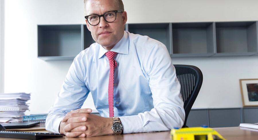 Topchef i Falck, Jakob Riis, må bede til de højere magter om hjælp til en flerårig renselsesproces.