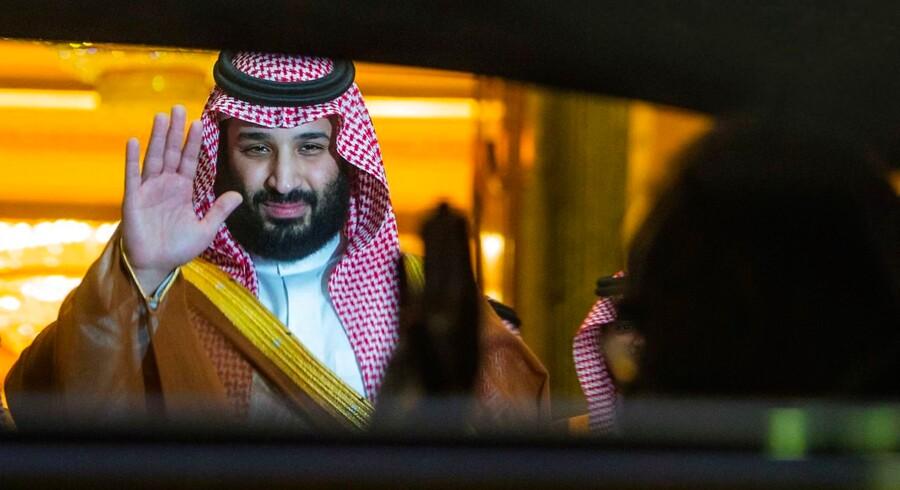 Saudi-Arabiens kronprins, Mohammed bin Salman, bliver ofte kritiseret af Iyad El-Baghdadi.