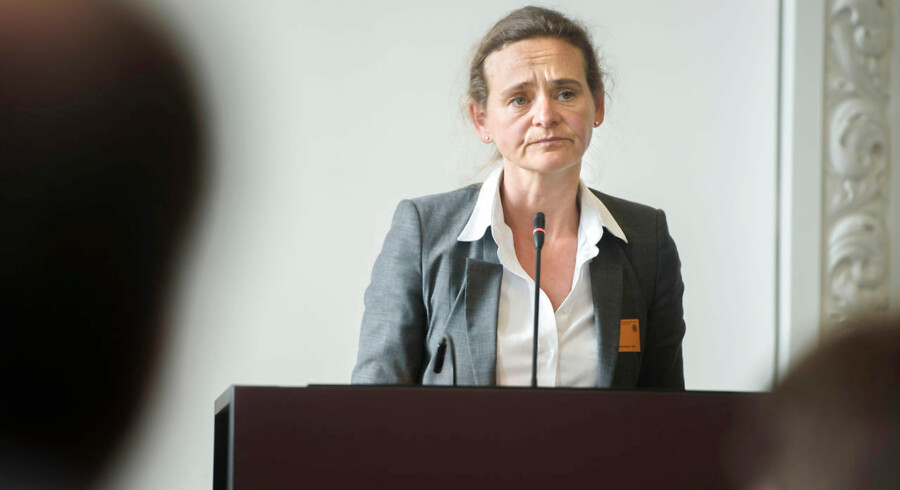 Julie Galbo har tidligere forsvaret Nordea ved en høring på Christiansborg i sag om hvidvask.