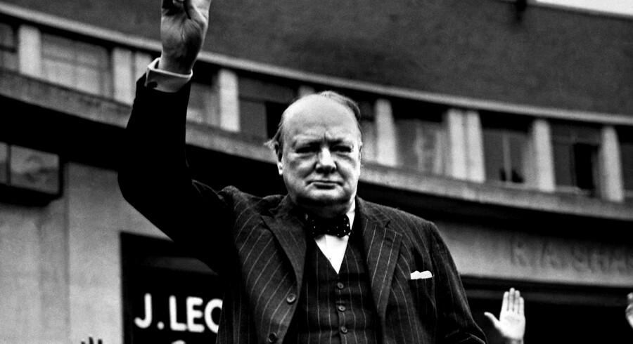 Levemanden Churchill satte pris på kvalitet og god betjening, men kunne ikke altid betale sine regninger.