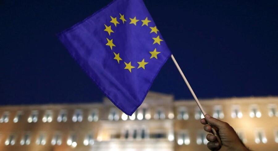 »Det centrale tema til EP-valget burde derfor helt naturligt være, hvordan vi genskaber økonomisk balance og et sundt handelsforhold mellem Syd- og Nordeuropa,« skriver Rasmus Hougaard Nielsen.