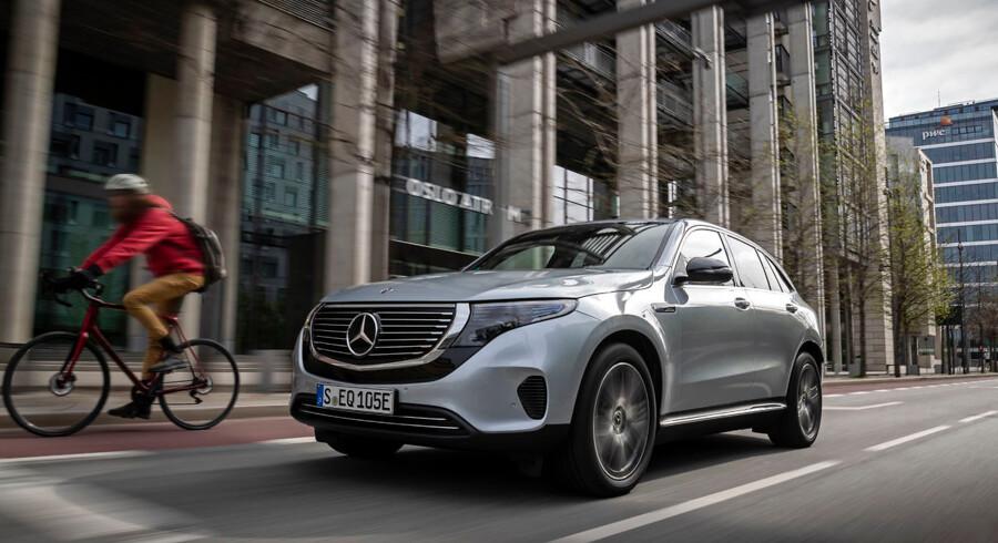 Den nye Mercedes EQC er Mercedes første elbil under det nye EQ-mærke. Der kommer ti inden 2022.