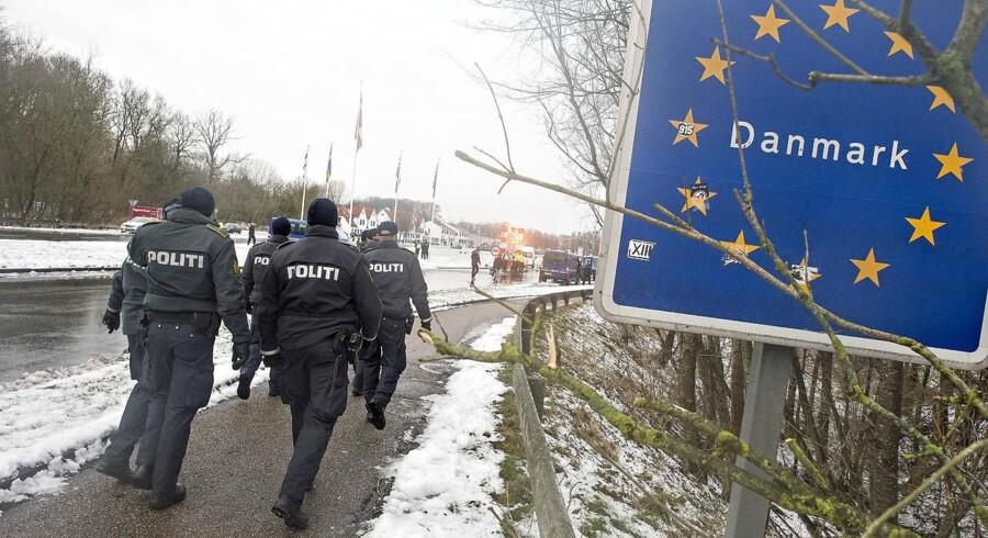 »Grænsekontrol er et af de absolut største fokusområder for Dansk Folkeparti – både i folketingsvalgkampen og europaparlamentsvalgkampen. Derfor vil vi stille krav til den kommende regering om, at grænsekontrollen forlænges hele næste valgperiode,« siger spidskandidat Peter Kofod.