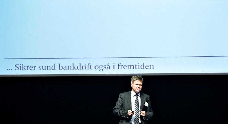 Finanstilsynet har i forbindelse med sine inspektioner af landets finansielle virksomheder konstateret, at det stadig halter med hvidvask- og terrorbekæmpelsen. Her Finanstilsynets direktør, Jesper Berg.