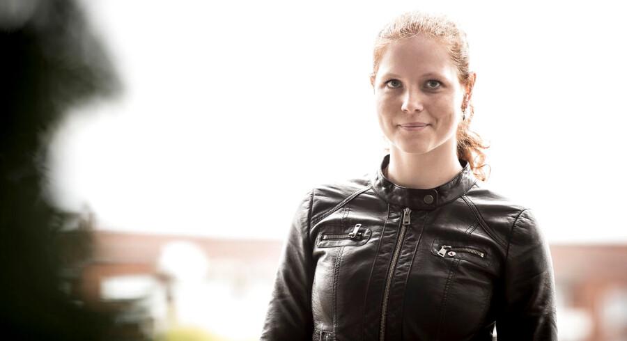 Isabella Arendt, næstformand i Kristendemokraterne fotograferet ved Sankt Jørgens Sø ved Frederiksberg, mandag den 8. oktober 2018.