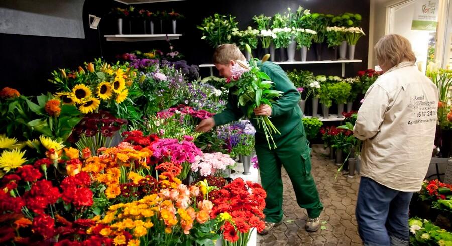 ARKIVFOTO. Mors dag er den absolut største dag på året for blomsterhandlere, siger Interflora-direktør.